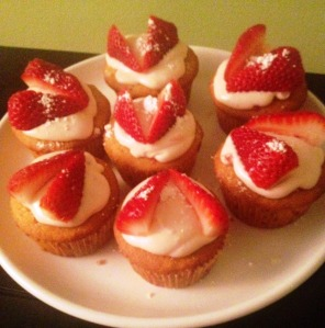 strawberry shortcups